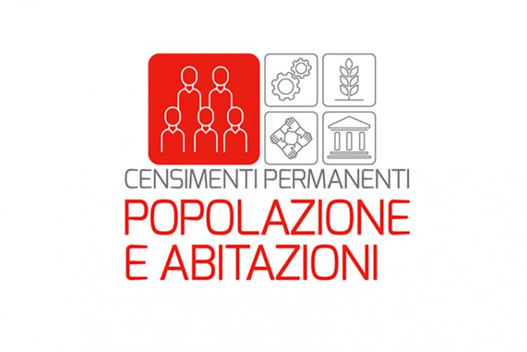 Logo censimento popolazione e abitazioni